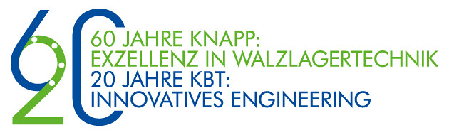 Concentrated competence in bearing technology: 60 years of KNAPP / 20 years of KBT