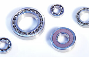 Ball bearings and roller bearings